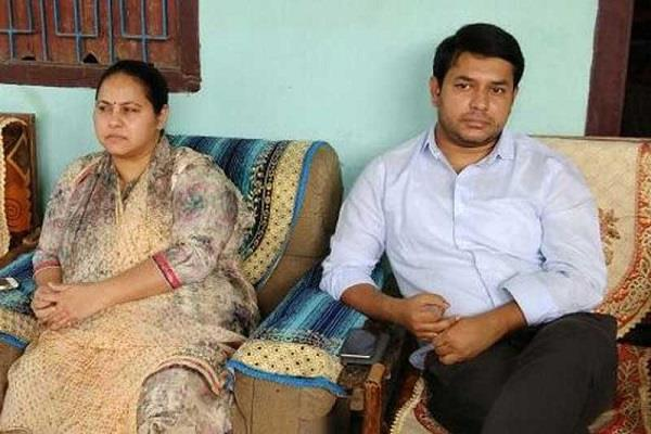 ed inquires about lalu prasad son in law