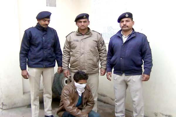 fake id created of sp solan  police arrest the natwar lal