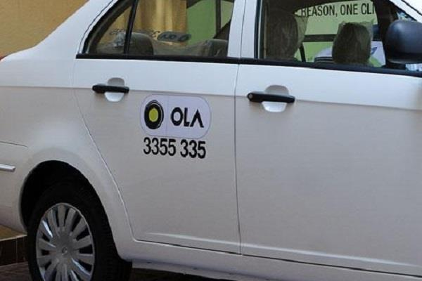 ola cab driver molested woman