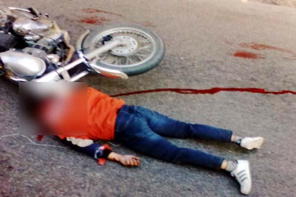 painful death of pharmacist and bullet rider in 2 road accidents