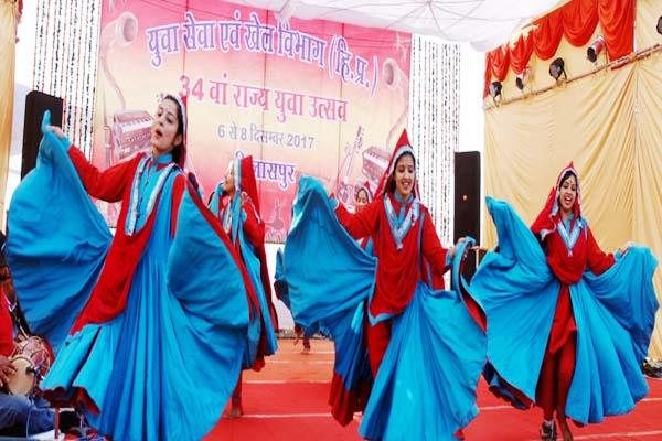 state level youth festival starts in bilaspur  glimpse of ancient culture