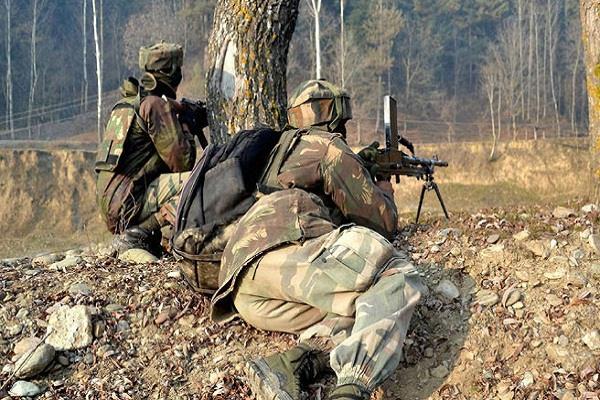 jco injured in rajouri due to ceasefire violation of pakistan