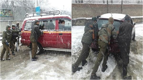 exam postponed in kashmir university due to snowfall