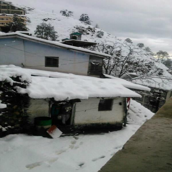 shimla  snowfall  traffic jams  tourist spots  power failure