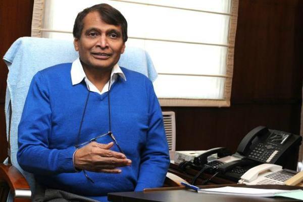 suresh prabhu  govt has increased investment in indian railways