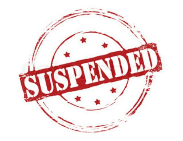 suspended employee had to open office
