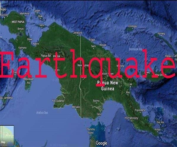 8 magnitude earthquake in papua new guinea