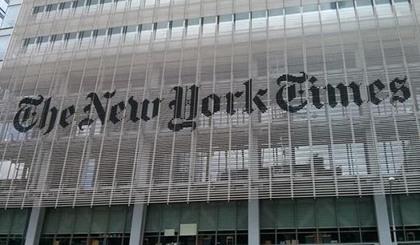 the new york times twitter hacked claims on us missile attack