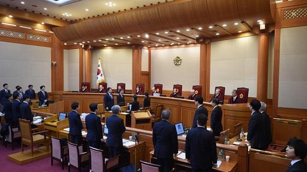 impeachment hearings start against president park