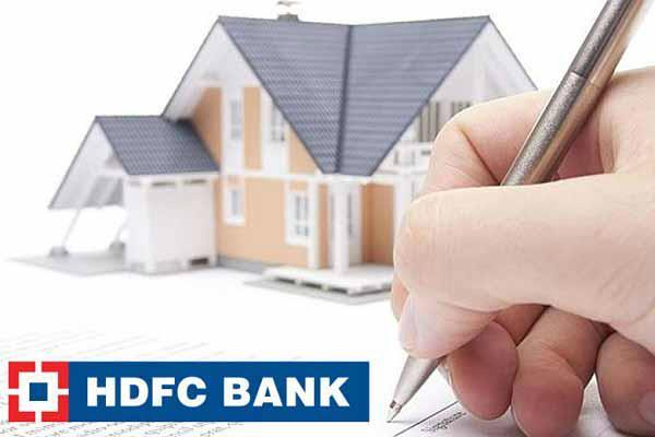 housing loan  hdfc bank
