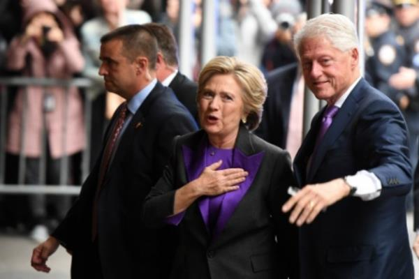 hillary and bill clinton will attend trump inauguration