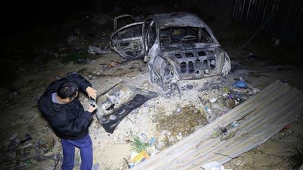 car bomb blast tripoli near italian embassy i    2 dead
