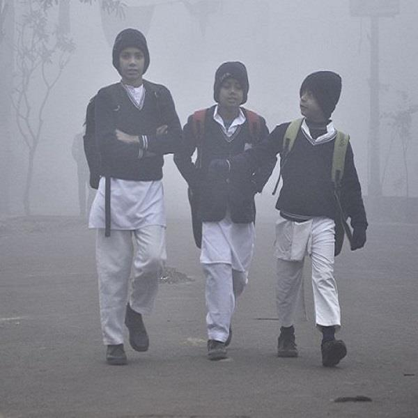 january 19 to close the school of the delhi and haryana