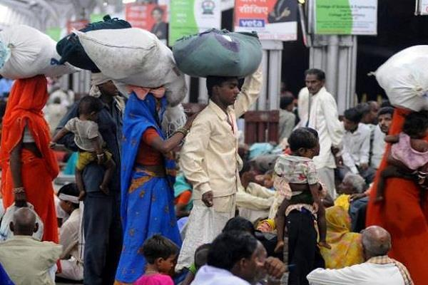 haryana news the migration of people did not stop