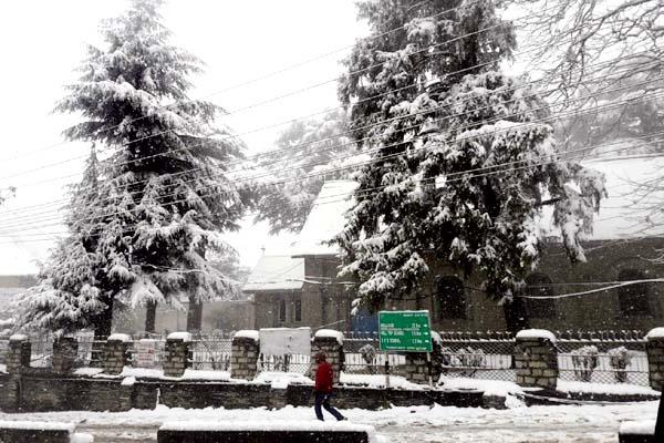 five day  snowfall  villages  blackout
