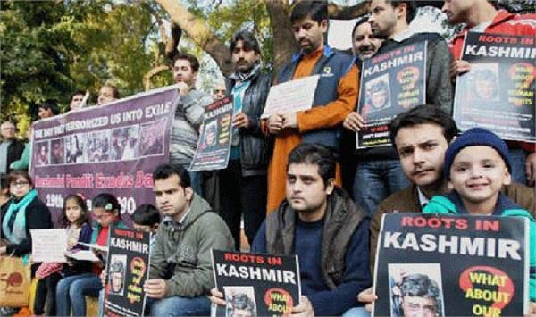 no separate colony for pandits in kashmir
