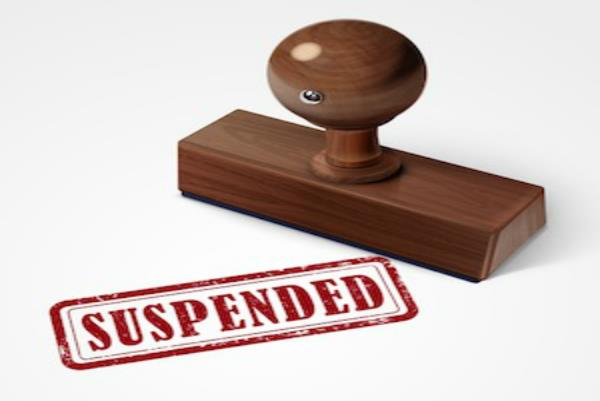 operator was suspended ticket after taking money