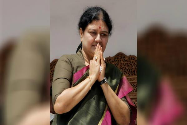 sasikala another blow