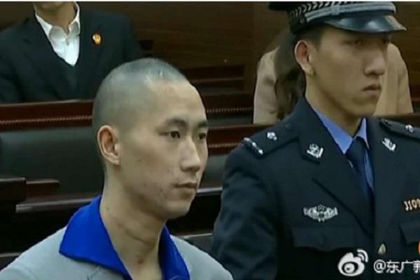 man who set off explosive device at shanghai airport jailed for eight years