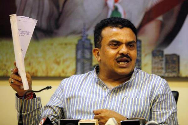 bmc election sanjay nirupam resignation