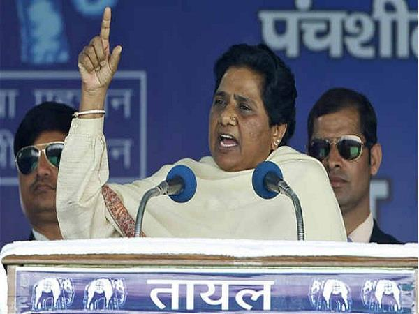 will form the majority of the bsp government in up mayawati