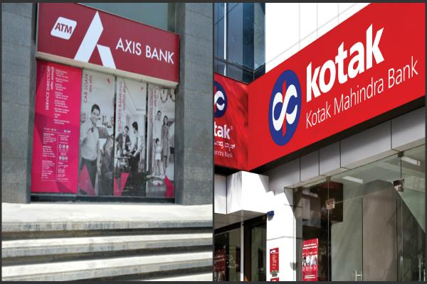 kotak mahindra  axis bank shares rise on merger rumours