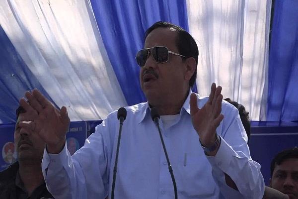 bjp is trying to destroy the brotherhood srwsmaj  siddiqui