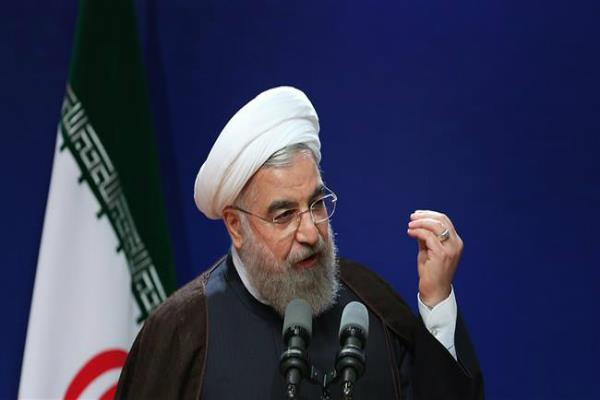 president hassan rouhani warns against using   threatening language   on iran