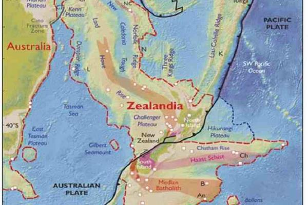 earth may have brand new continent zealandia