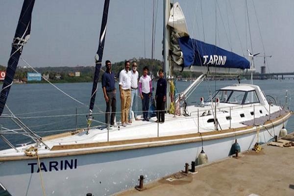 indian navy will tomorrow tarini gift