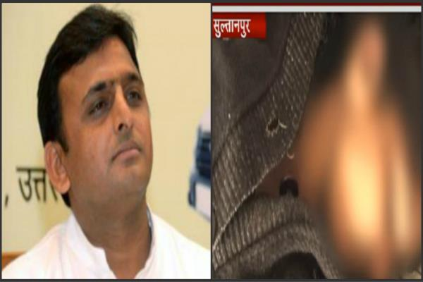 reply akhilesh deleted deceased rape victim safety whom went gesture
