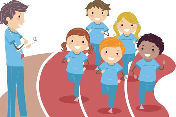 decreasing the level of fitness in school children