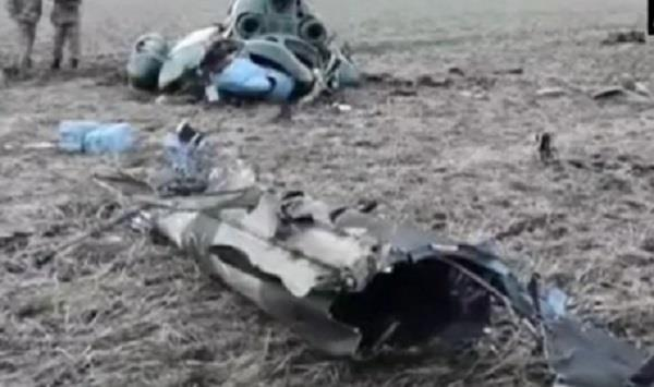 five dead in military helicopter crash in east ukraine