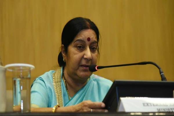 sushma swaraj richa patel