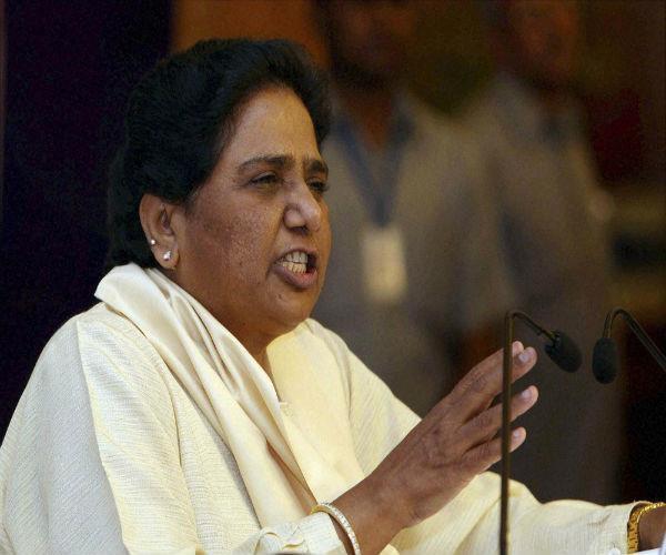 mayawati  bjp and government  s attitude in haryana case is notorious  mayawati