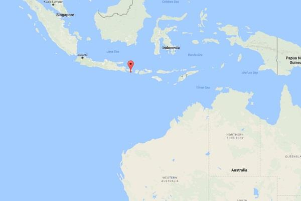 5 5 magnitude earthquake hits bali  indonesia