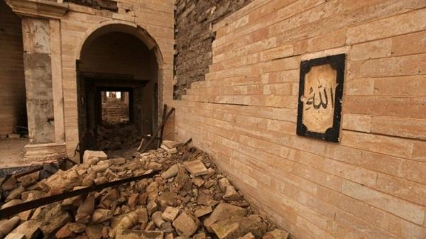 archaeologists find hidden palace under shrine destroyed by isis