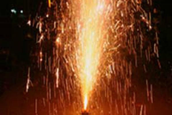by cracking the orders of the high court till midnight  people started crackers