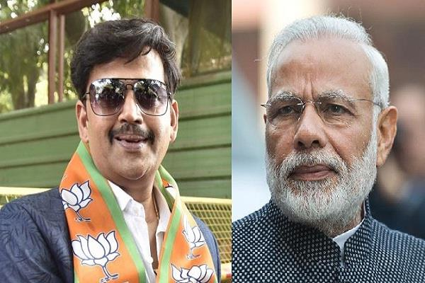 prime minister modi s biopic to be made in bhojpuri ravi kishan