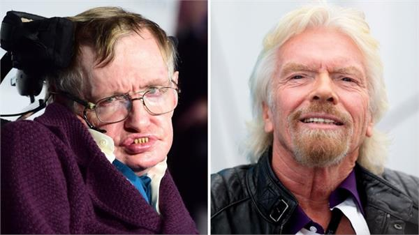 stephen hawking plans to travel into space on richard branson virgin galactic