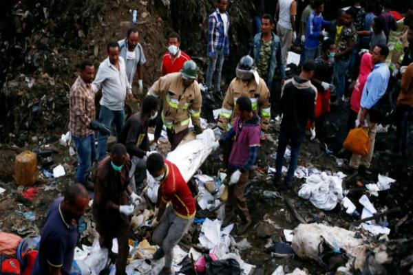 ethiopia trash dump landslide death toll rises to 115