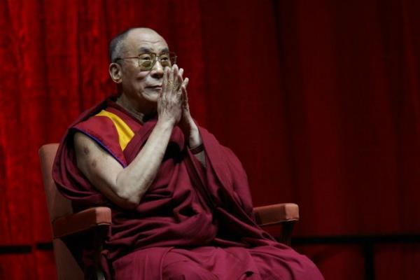 china warns india over invite to dalai lama to buddhist meet