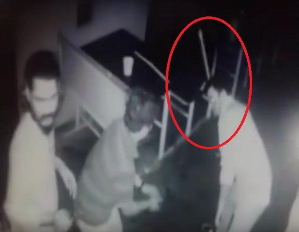 cop thrashes bar owner for not providing liquor