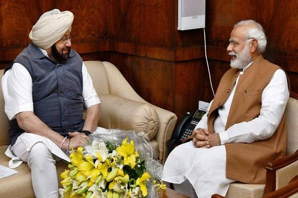 amarinder seeks permission from modi to sell power to pakistan
