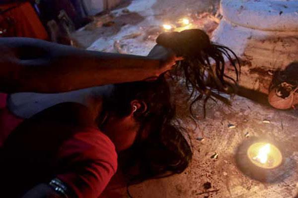rape on name of treatment by tantrik baba