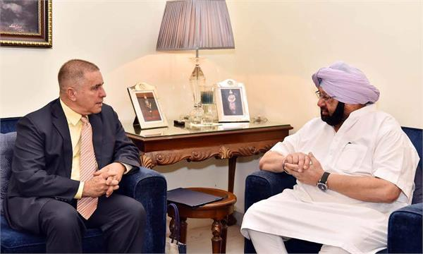 punjab and israel to cooperate in agriculture dairy secto