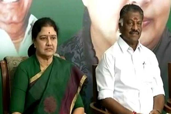 then the turmoil in the politics of tamil nadu started
