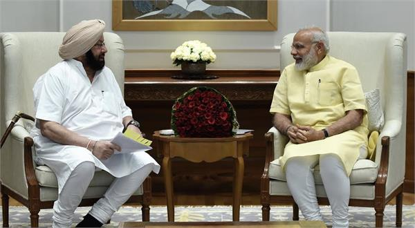 amarinder urges modi to sell surplus power to pakistan and nepal