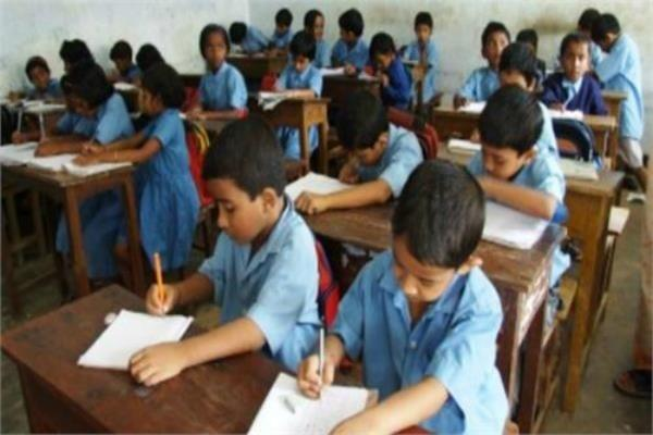 government schools will be closed if private schools teach
