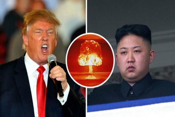 trump told north korea threat